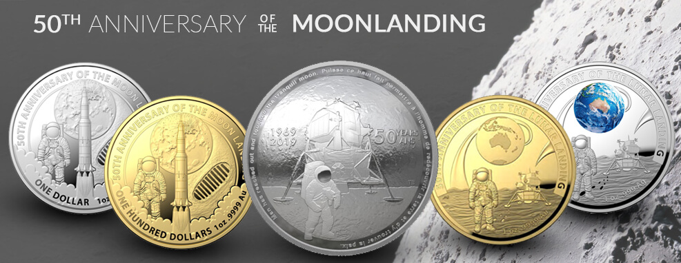 Moonlanding Coin Series