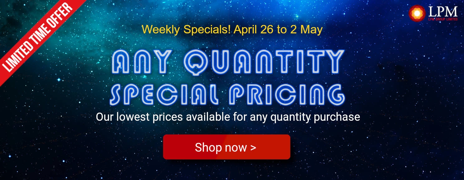 Weekly Specials Promotion