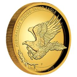 2015 2oz Australia Wedge Tailed Eagle High Relief 9999