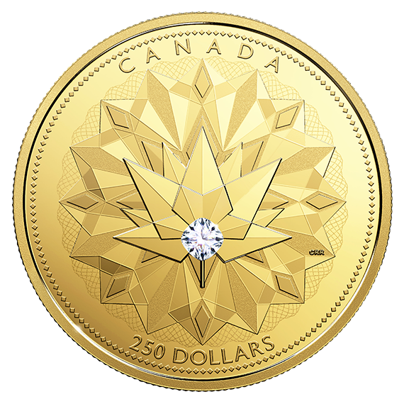 2017 60 08gram Canada Celebrating Brilliance 9999 Gold