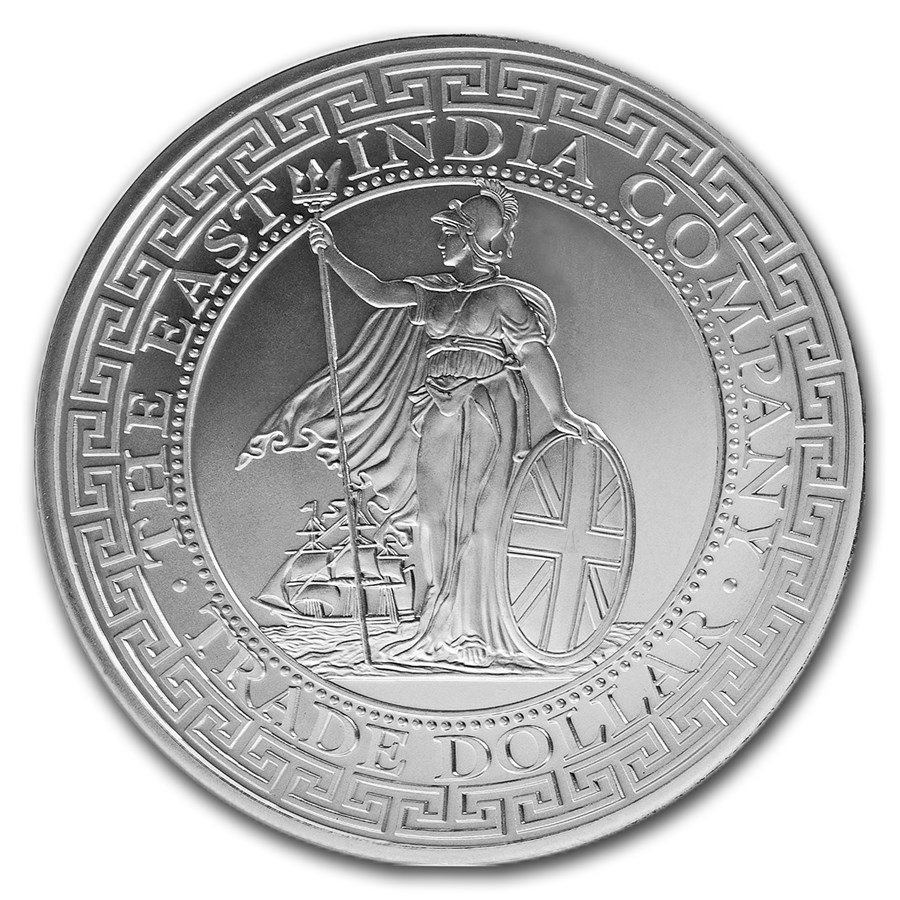 2020 1oz Niue French Trade Dollar - Gold & Silver Proof Coin
