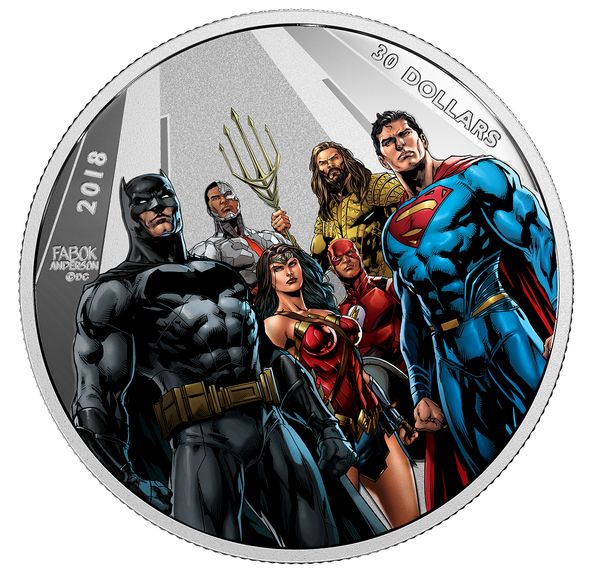 2018 2 Oz Canada The Justice League The World S Greatest
