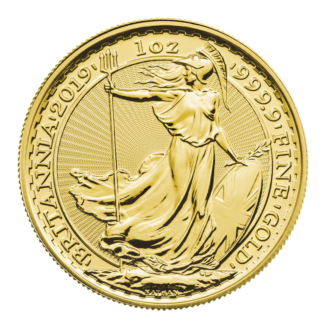 2019 1 Oz Great Britain Britannia 9999 Gold Coin Bu Lpm