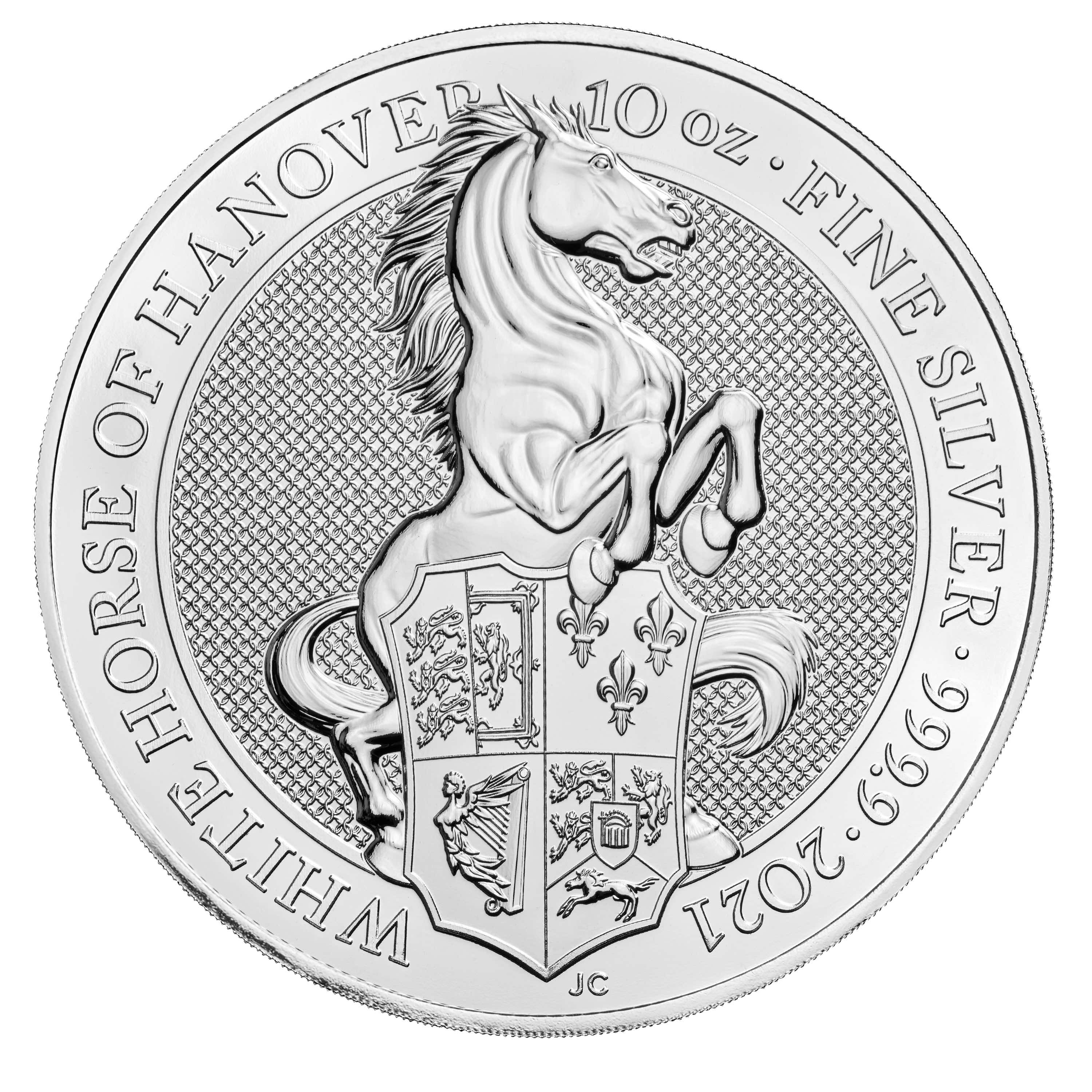2021 Great Britain Queen's Beasts - The White Horse