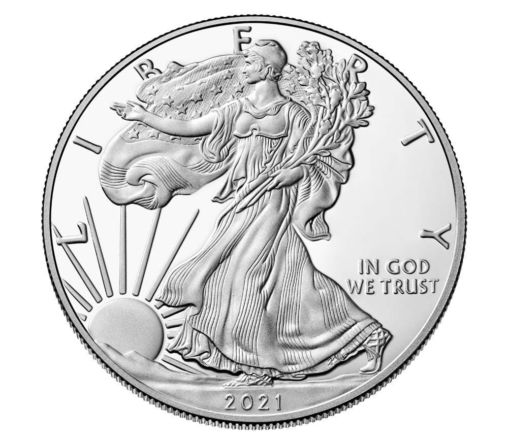 2021-W America Eagle .999 Silver Proof Coin