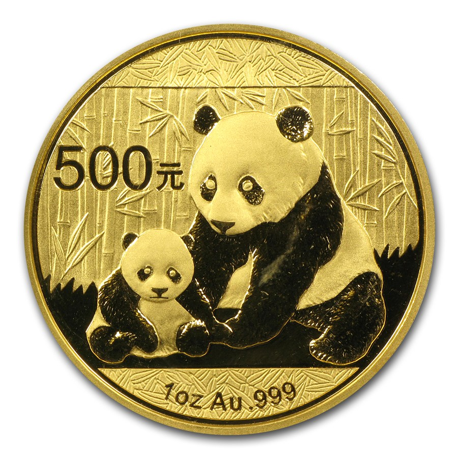 2012 1 Oz China Panda 999 Gold Coin Lpm