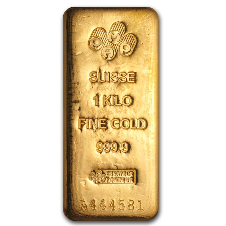 1 Kilogram Pamp 9999 Gold Bar Lpm