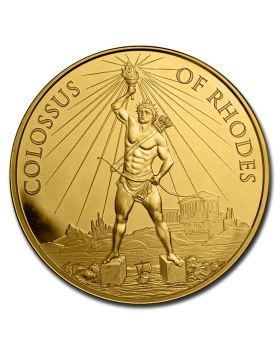 2020 1 oz 7 Wonders of the Ancient World - Colossus of Rhodes .999 Gold BU