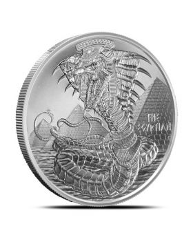1 oz Golden State Mint World of Dragons - Egyptian Dragon .999 Silver Round