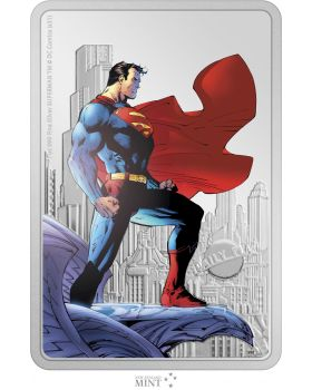 2021 1oz Niue Superman - The Man of Steel .999 Silver Proof Coin