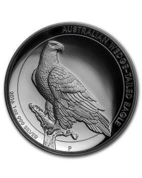 2016 1oz Australia Wedge Tailed Eagle High Relief .999 Silver Proof Coin