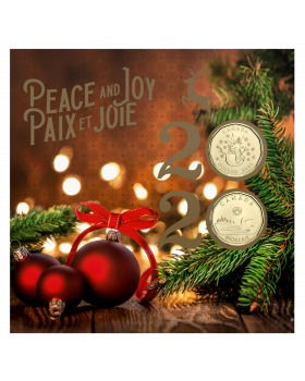 2020  Canada Holiday Gift  Coin Set