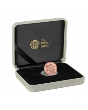 2018 7.98 gram Great Britain The Sovereign .9167 Gold Coin ( The 5th Birthday of HRH Prince George Strike on the Day Celebration)