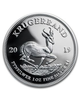 2019 1 oz South Africa Krugerrand .999 Silver Proof Coin