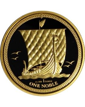 2017 1 oz Isle of Man Noble .999 Gold Coin