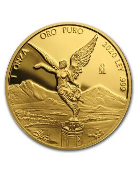 2020 1 oz Mexico Libertad .999 Gold Proof Coin (Free US Shipping USD99+)