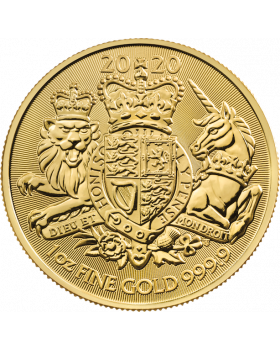 2020 1 oz Great Britain The Royal Arms .9999 Gold Coin