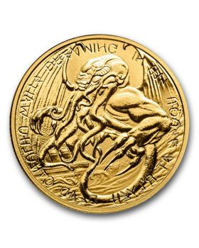 2021 1 oz Tokelau The Great Old One - Cthulhu .999 Gold BU Coin