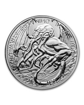 2021 1 oz Tokelau The Great Old One - Cthulhu .999 Silver BU Coin