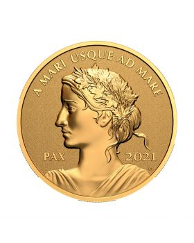 2021 1 oz Canada Peace Dollar .9999 Gold Proof Coin
