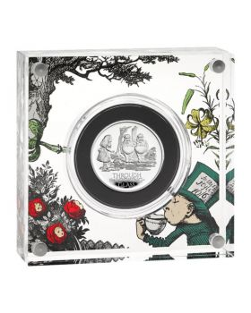 2021 1/2oz Great Britain Through The Looking Glass .999 Silver Proof Coin