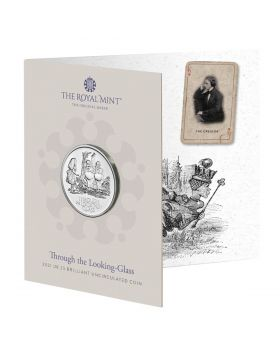 2021 28.28g Great Britain Through The Looking Glass Cupro-Nickel Coin