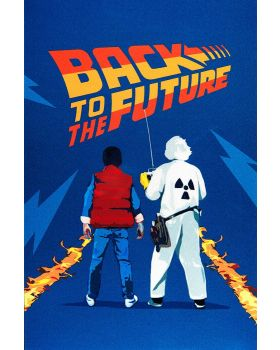 2021 35g Back To the Future Series - Marty McFly and Doc Brown  .999 Silver Foil