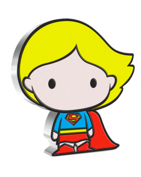 2021 1oz Chibi Collection DC Comics Series - Supergirl .999 Silver Proof Coin