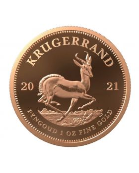 2021 1 oz South Africa Krugerrand .9167 Gold Proof Coin