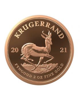 2021 2 oz South Africa Krugerrand .9167 Gold Proof Coin