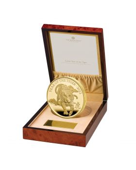 2022 1 Kg Great Britain  Lunar Series Year of the Tiger .999 Gold Proof Coin