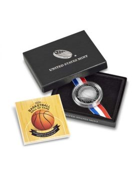 2020 11.34 gram United States Basketball Hall of Fame Clad Coin