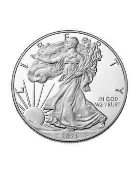 2021-W America Eagle Type 1 .999 Silver Proof Coin