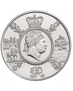2020 28.28g Great Britain A Celebration of the Reign of George III Cupro-nickel Uncirculated Coin