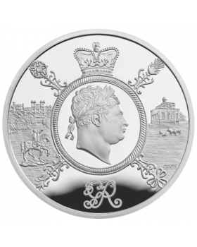 2020 28.28g Great Britain A Celebration of the Reign of George III 2020 UK .925 Silver Proof Coin