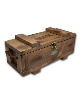 Scottsdale Tombstone Wood Storage Box for Silver Bars