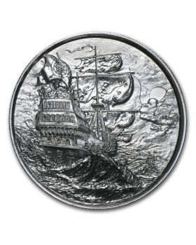 2oz Privateer Series Ultra High Relief .999 Silver Round - The Storm (First Release)