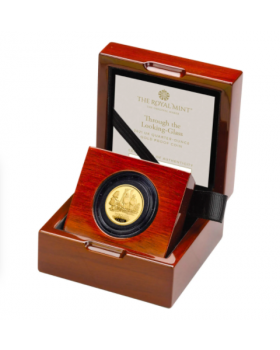 2021 1/4oz Great Britain Through The Looking Glass.9999 Gold Proof Coin