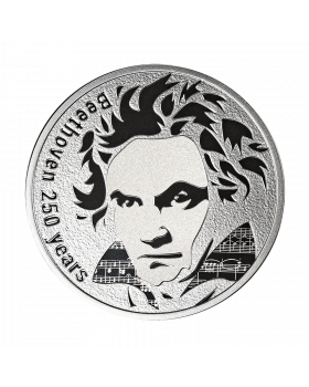 2020 28.28g Cameroon Beethoven 250 Years 925 Silver Proof Coin