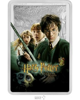 2020 1 oz Niue Harry Potter and the Chamber of Secrets .999 Silver Proof Coin