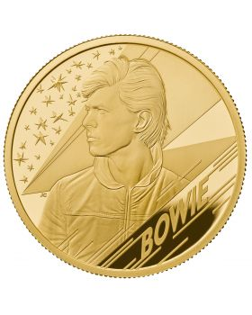 2020 1oz Great Britain Music Legends - David Bowie .999 Gold Proof Coin