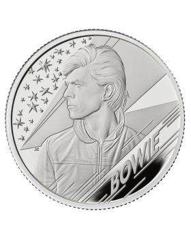2020 1/2 oz Great Britain Music Legends - David Bowie .999 Silver Proof Coin
