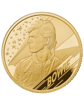 2020 1/4 oz Great Britain Music Legends - David Bowie .9999 Gold Proof Coin