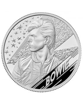 2020 2oz Great Britain Music Legends - David Bowie .999 Silver Proof Coin