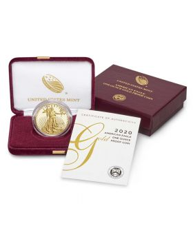 2020 1 oz America Eagle .9167 Gold Proof Coin