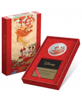 2020 1 oz Niue Disney Year of the Mouse - Good Fortune 999 Silver Proof Coin