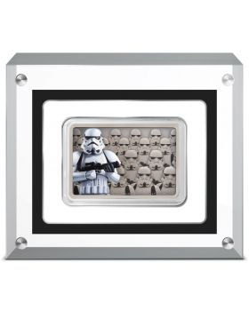 2020 1oz Niue Star Wars Guards Of the Empire - Stormtrooper .999 Silver Antique Coin