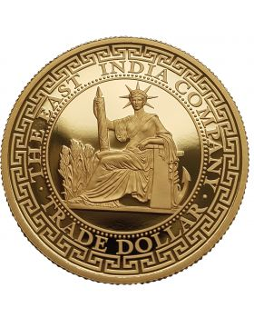 2020 1 oz Niue French Trade Dollar .9999 Gold Proof Coin