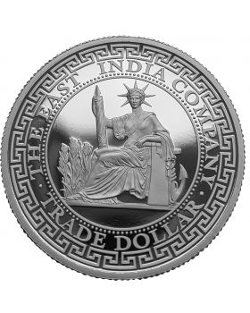 2020 1 oz Niue French Trade Dollar .9999 Silver Proof Coin