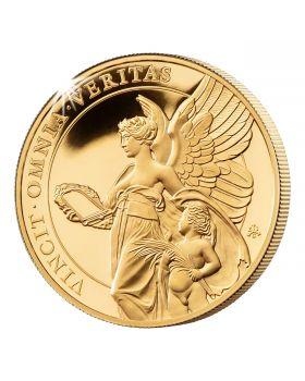 2021 1 oz St Helena The Queen's Virtues - Truth .9999 Gold Proof Coin